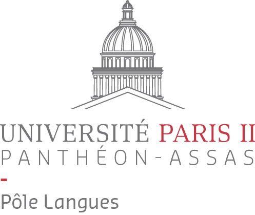 Logo pôle langues université Paris 2 Panthéon-Assas