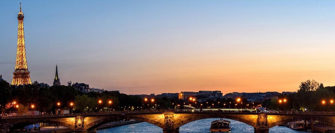 Visuel de la Tour Eiffelvue de la Seine